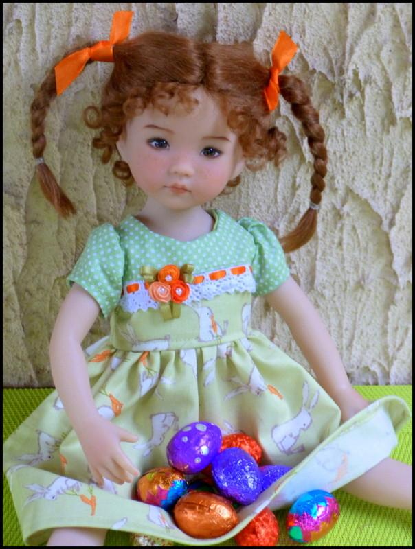 """Perrine, la petite Darling de Pâques et sa soeur, la """"nouvelle """"Eliette P1530216"""