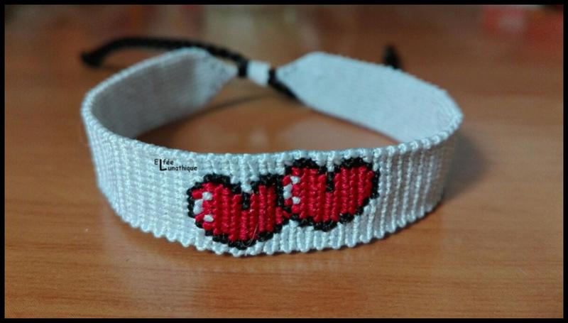 Elfée des bracelets Coeur10