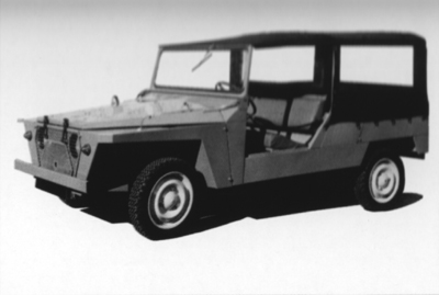 Citroën 3CV Baby Brousse 1970 00710