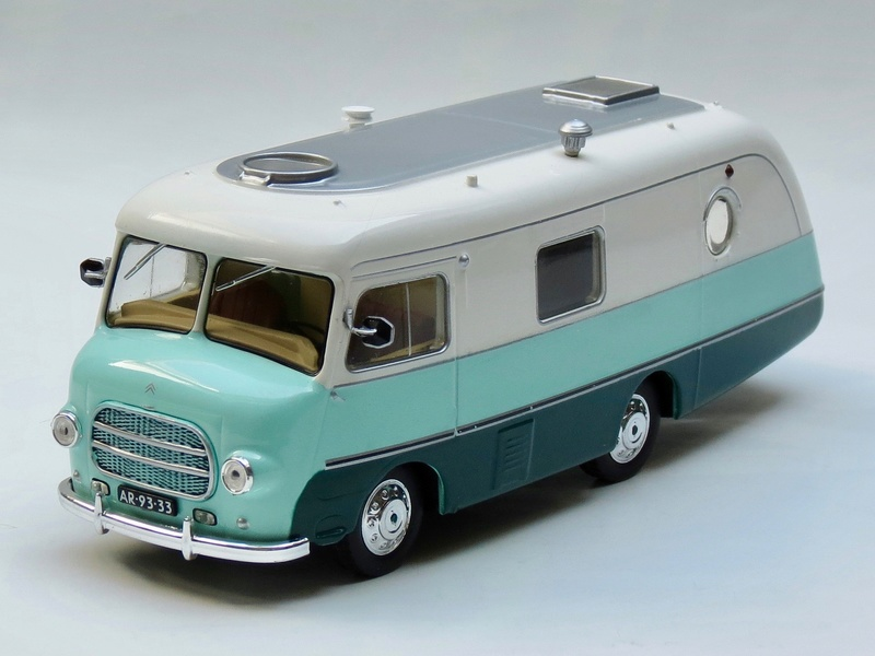 """2017 - Hachette Collections > """"Passion CAMPING-CARS"""" 1954_c10"""