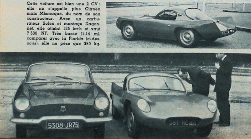 Citroën 2 CV Squal Mismaque 1960 2w5u0r10