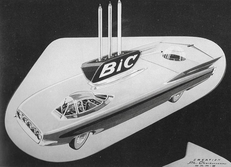 Citroën et la pointe Bic - 1955  Bic10