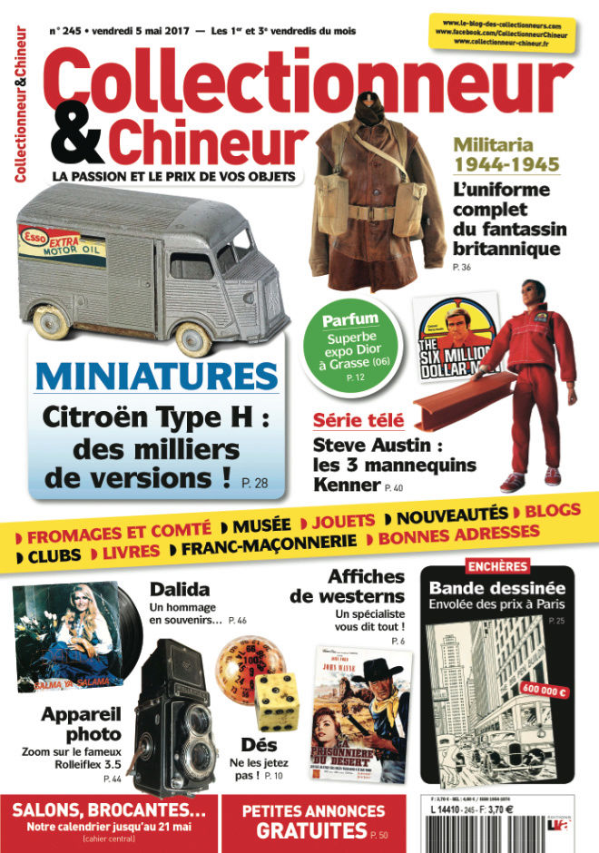 Collectionneur & Chineur 5 mai 2017 C24510