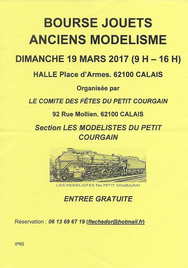 CALENDRIER HEBDOMADAIRE DES BOURSES & EXPOSITIONS 2017 PAR ERIC  Calais10