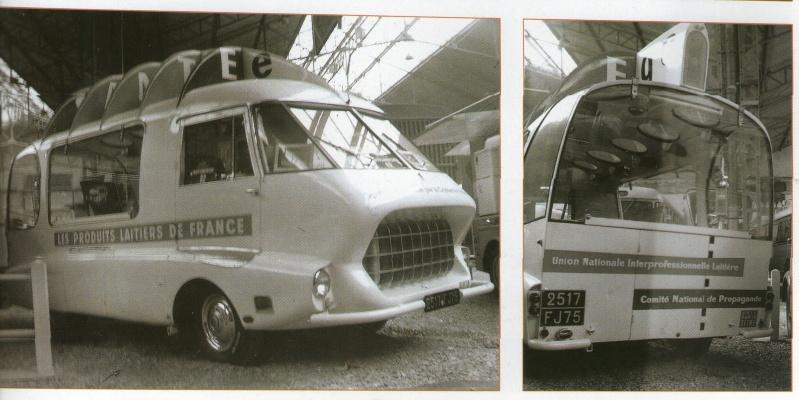 Citroën et la carrosserie LE BASTARD Camion13