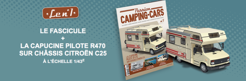 """2017 - Hachette Collections > """"Passion CAMPING-CARS"""" Captur14"""