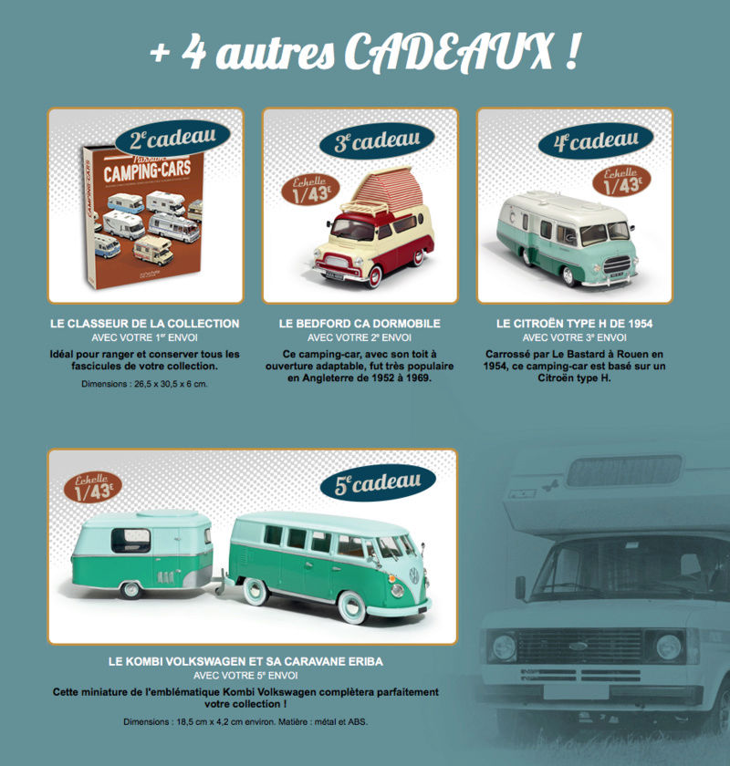 """2017 - Hachette Collections > """"Passion CAMPING-CARS"""" Captur17"""
