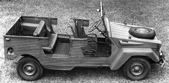 Citroën 3CV Baby Brousse 1970 Delign10