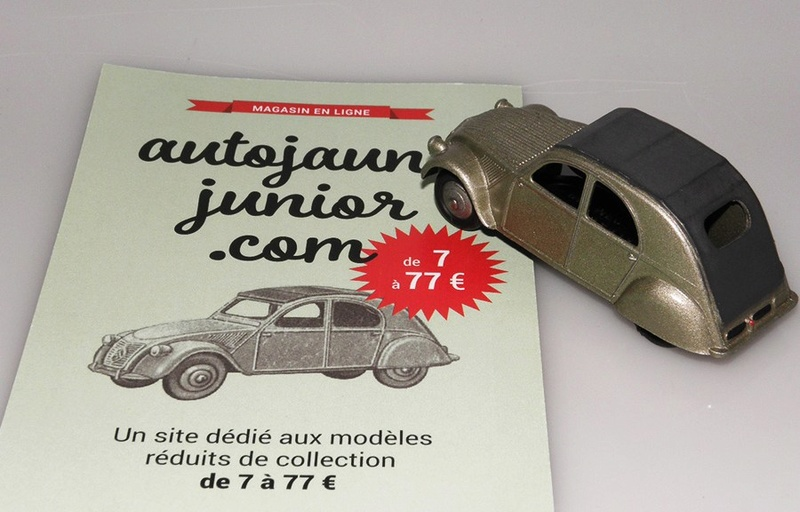Citroën 2CV - DINKY TOYS, UNE CARRIÈRE AU LONG COURS Dinky-10