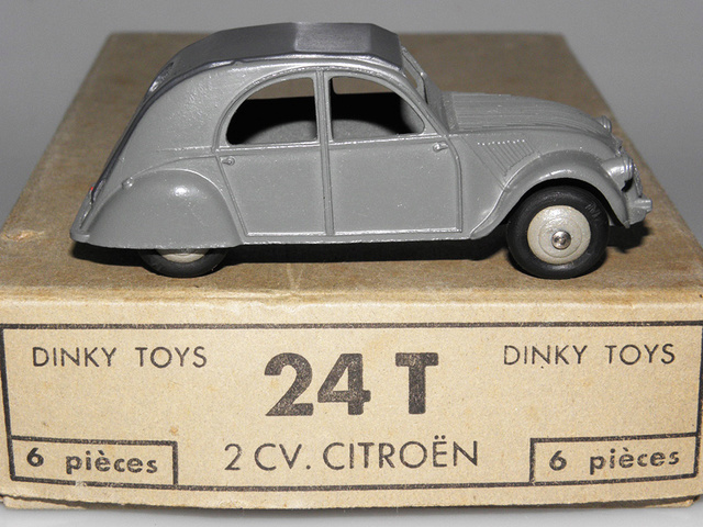 Citroën 2CV - DINKY TOYS, UNE CARRIÈRE AU LONG COURS Dinky-14