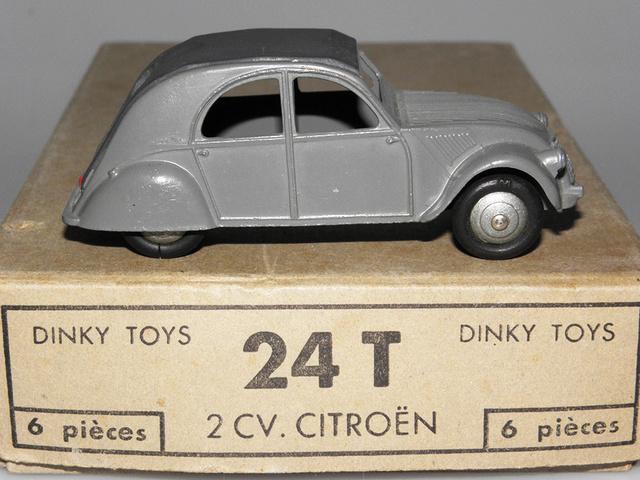 Citroën 2CV - DINKY TOYS, UNE CARRIÈRE AU LONG COURS Dinky-15