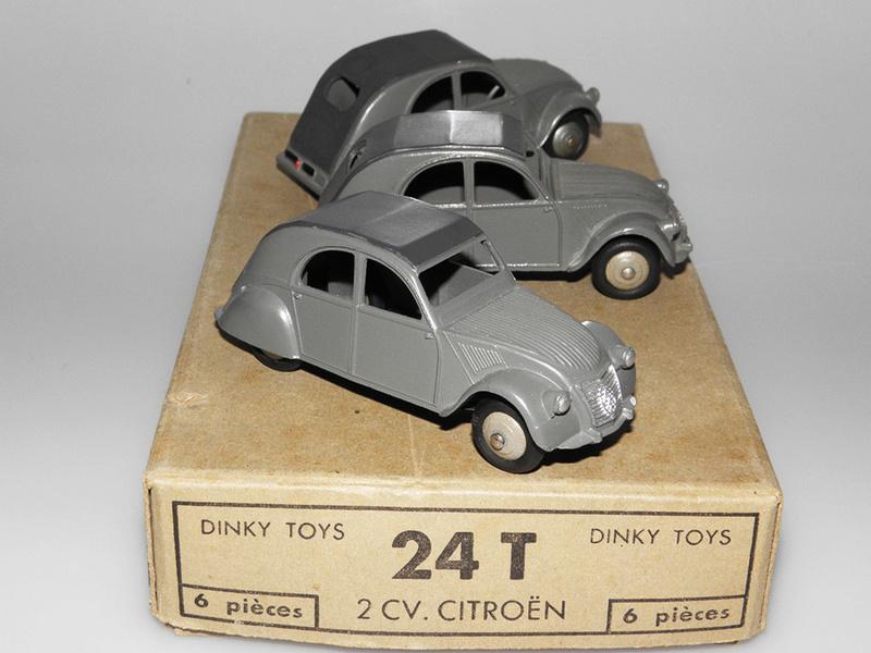 Citroën 2CV - DINKY TOYS, UNE CARRIÈRE AU LONG COURS Dinky-16
