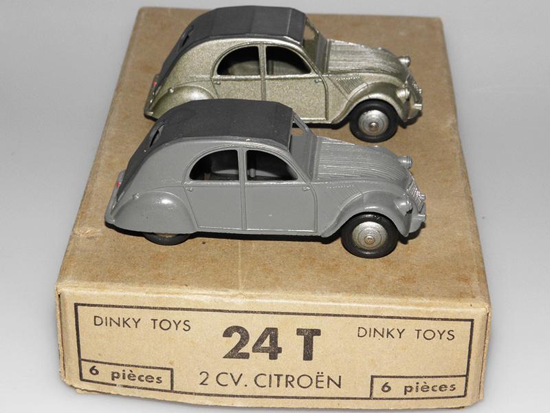 Citroën 2CV - DINKY TOYS, UNE CARRIÈRE AU LONG COURS Dinky-17