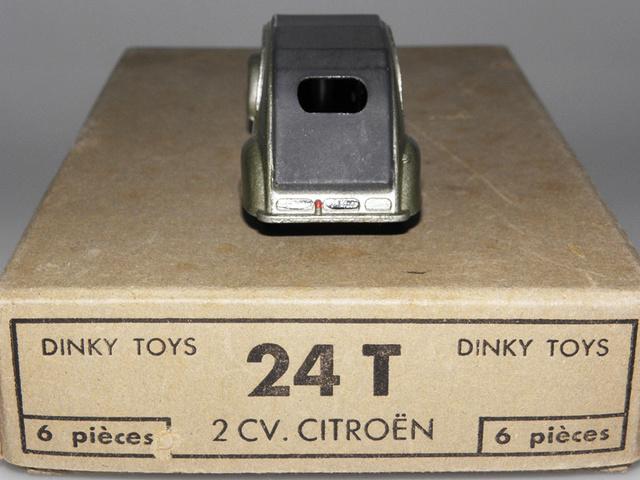 Citroën 2CV - DINKY TOYS, UNE CARRIÈRE AU LONG COURS Dinky-18