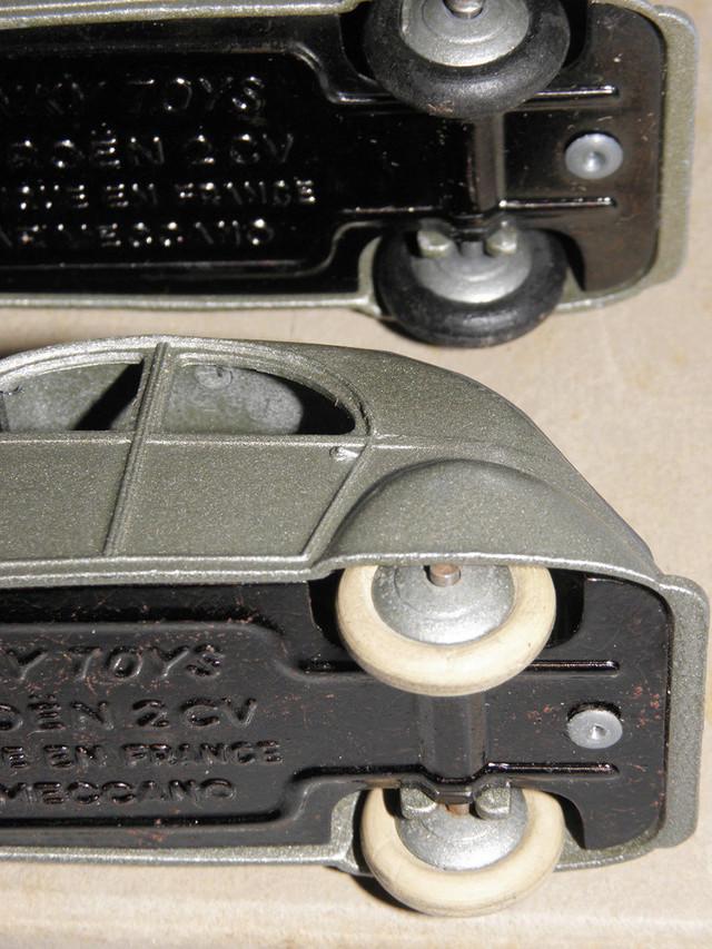 Citroën 2CV - DINKY TOYS, UNE CARRIÈRE AU LONG COURS Dinky-19