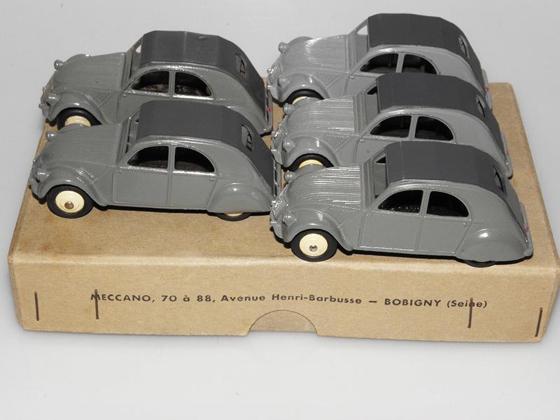 Citroën 2CV - DINKY TOYS, UNE CARRIÈRE AU LONG COURS Dinky-20