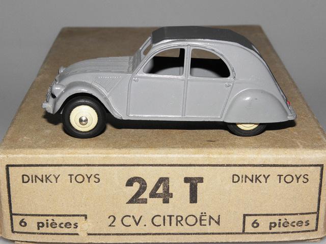 Citroën 2CV - DINKY TOYS, UNE CARRIÈRE AU LONG COURS Dinky-22