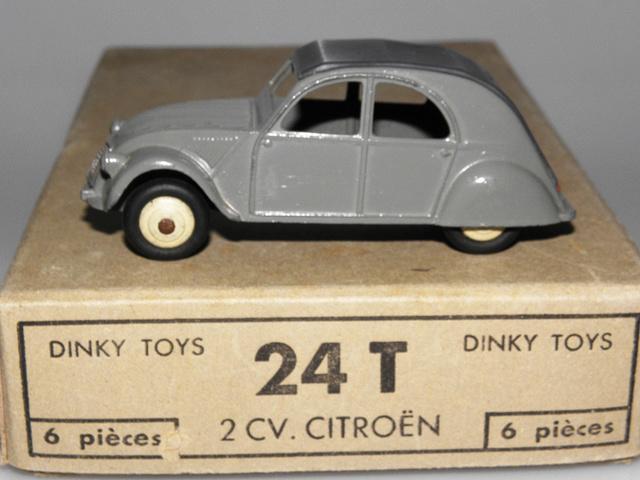 Citroën 2CV - DINKY TOYS, UNE CARRIÈRE AU LONG COURS Dinky-24