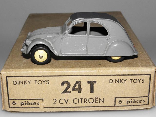 Citroën 2CV - DINKY TOYS, UNE CARRIÈRE AU LONG COURS Dinky-26