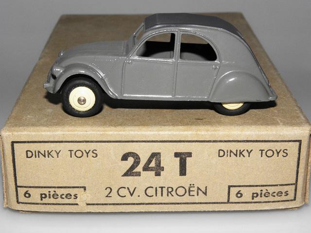 Citroën 2CV - DINKY TOYS, UNE CARRIÈRE AU LONG COURS Dinky-27