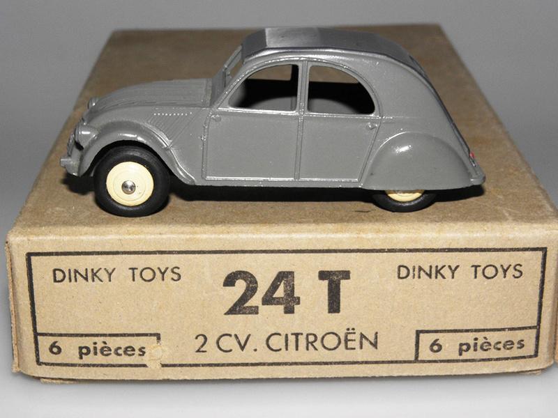 Citroën 2CV - DINKY TOYS, UNE CARRIÈRE AU LONG COURS Dinky-31