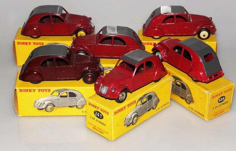Citroën 2CV - DINKY TOYS, UNE CARRIÈRE AU LONG COURS Dinky-32