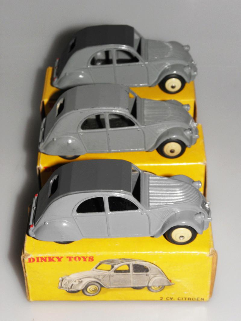 Citroën 2CV - DINKY TOYS, UNE CARRIÈRE AU LONG COURS Dinky-34