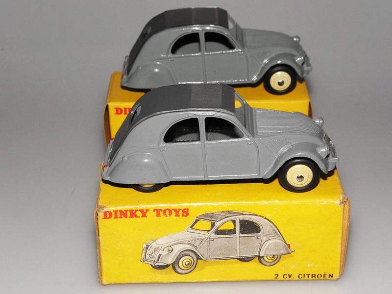 Citroën 2CV - DINKY TOYS, UNE CARRIÈRE AU LONG COURS Dinky-36