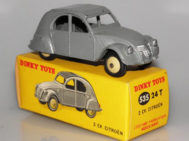 Citroën 2CV - DINKY TOYS, UNE CARRIÈRE AU LONG COURS Dinky-39