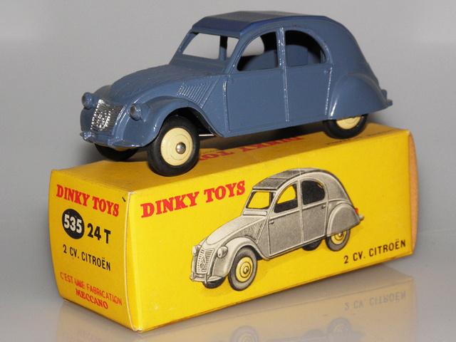 Citroën 2CV - DINKY TOYS, UNE CARRIÈRE AU LONG COURS Dinky-41