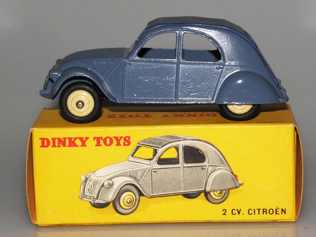 Citroën 2CV - DINKY TOYS, UNE CARRIÈRE AU LONG COURS Dinky-42