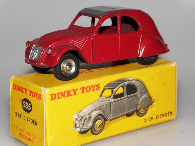 Citroën 2CV - DINKY TOYS, UNE CARRIÈRE AU LONG COURS Dinky-44