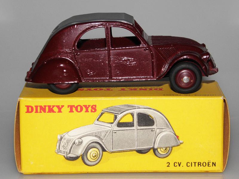 Citroën 2CV - DINKY TOYS, UNE CARRIÈRE AU LONG COURS Dinky-45