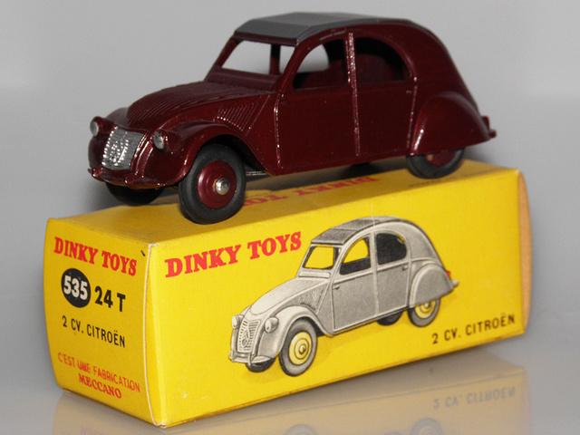Citroën 2CV - DINKY TOYS, UNE CARRIÈRE AU LONG COURS Dinky-46