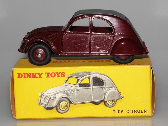 Citroën 2CV - DINKY TOYS, UNE CARRIÈRE AU LONG COURS Dinky-47