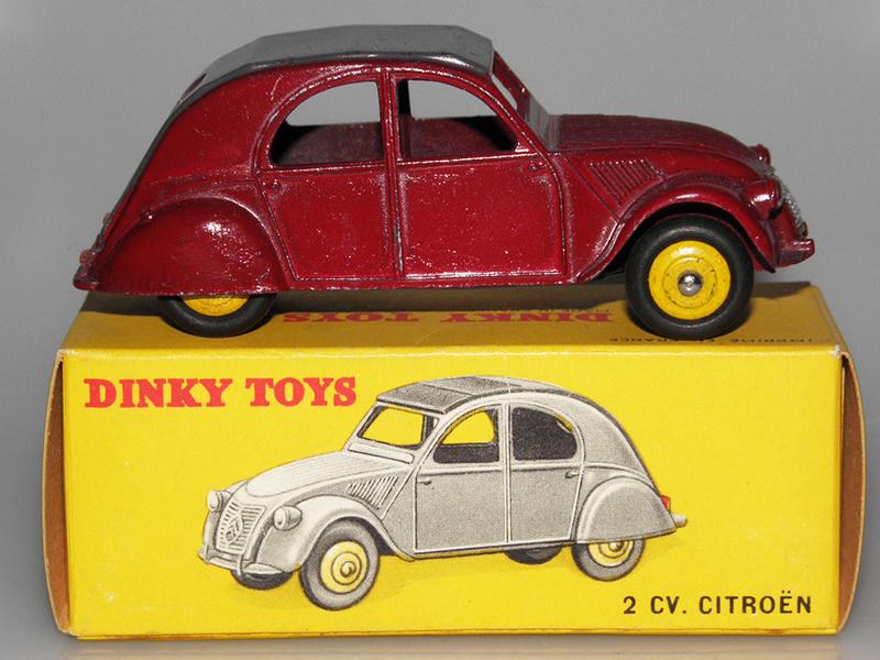 Citroën 2CV - DINKY TOYS, UNE CARRIÈRE AU LONG COURS Dinky-48