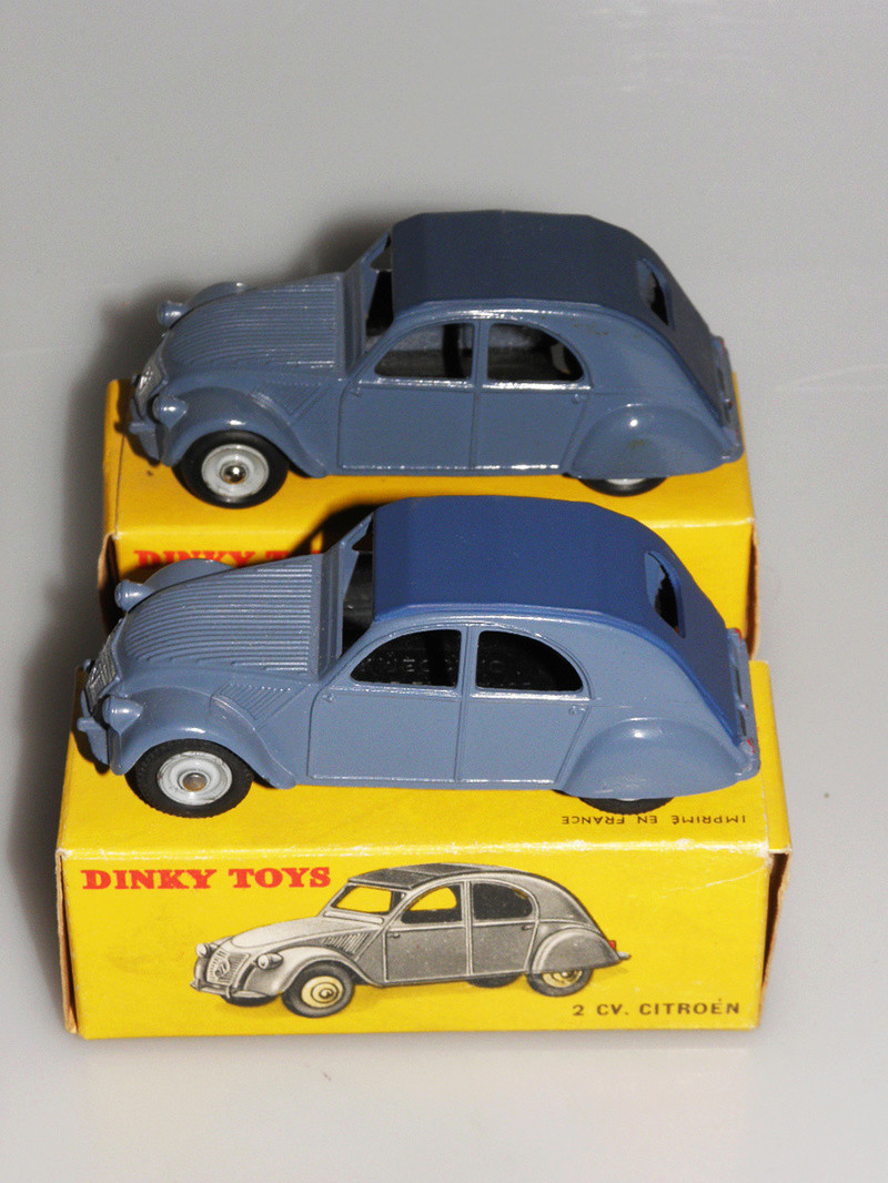 Citroën 2CV - DINKY TOYS, UNE CARRIÈRE AU LONG COURS Dinky-49
