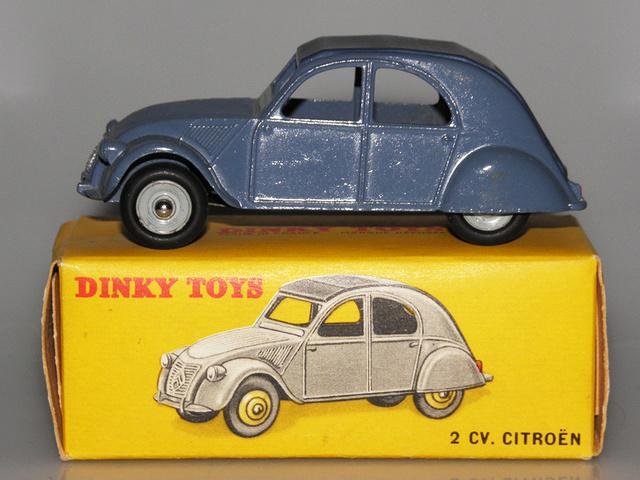 Citroën 2CV - DINKY TOYS, UNE CARRIÈRE AU LONG COURS Dinky-53