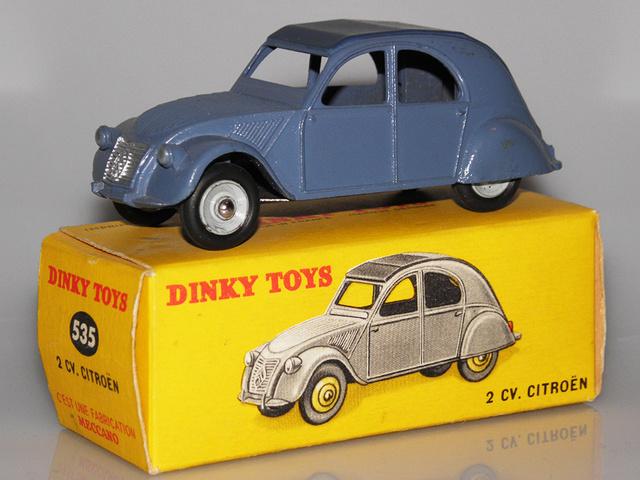 Citroën 2CV - DINKY TOYS, UNE CARRIÈRE AU LONG COURS Dinky-54