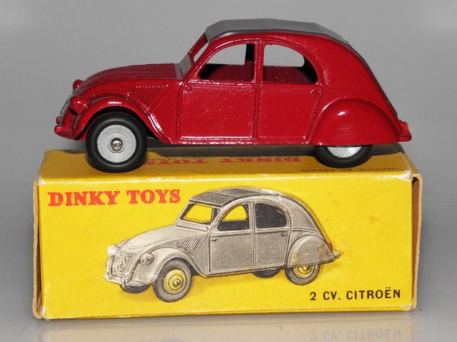 Citroën 2CV - DINKY TOYS, UNE CARRIÈRE AU LONG COURS Dinky-55