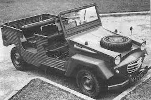 Citroën 3CV Baby Brousse 1970 Images10