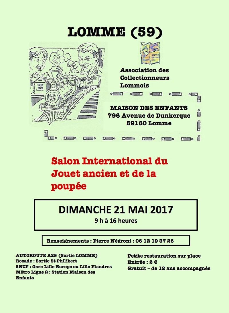 CALENDRIER HEBDOMADAIRE DES BOURSES & EXPOSITIONS 2017 PAR ERIC  Lomme_10