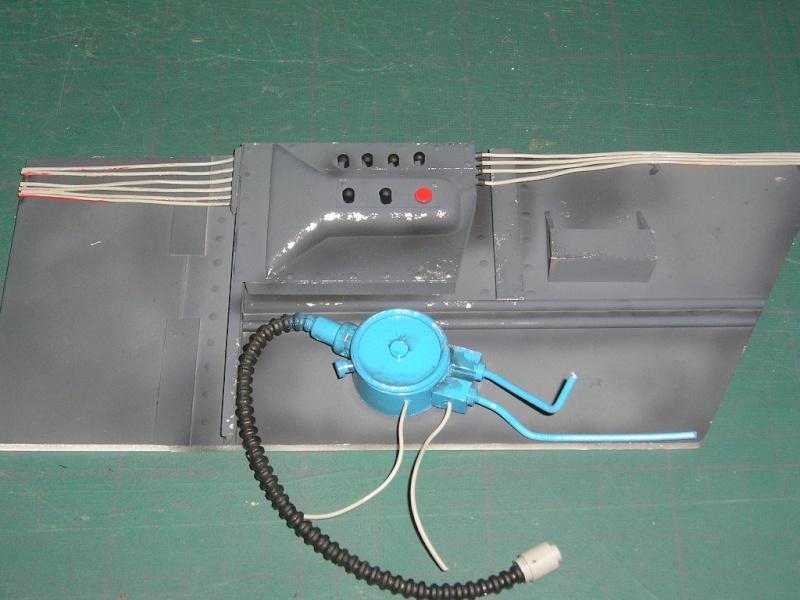 ME 109 G6  8 BLANC Cockpi12