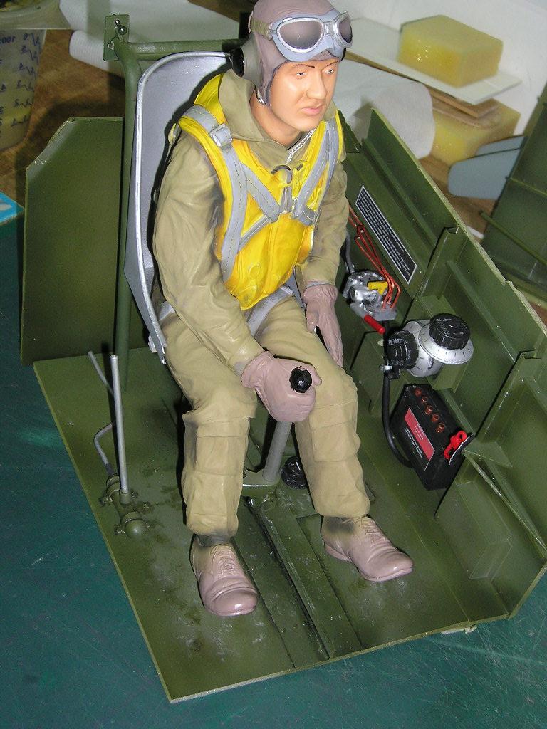 CURTISS P40 Pilote17