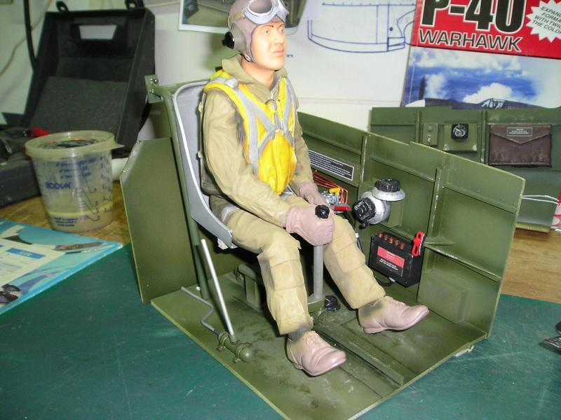 CURTISS P40 Pilote18