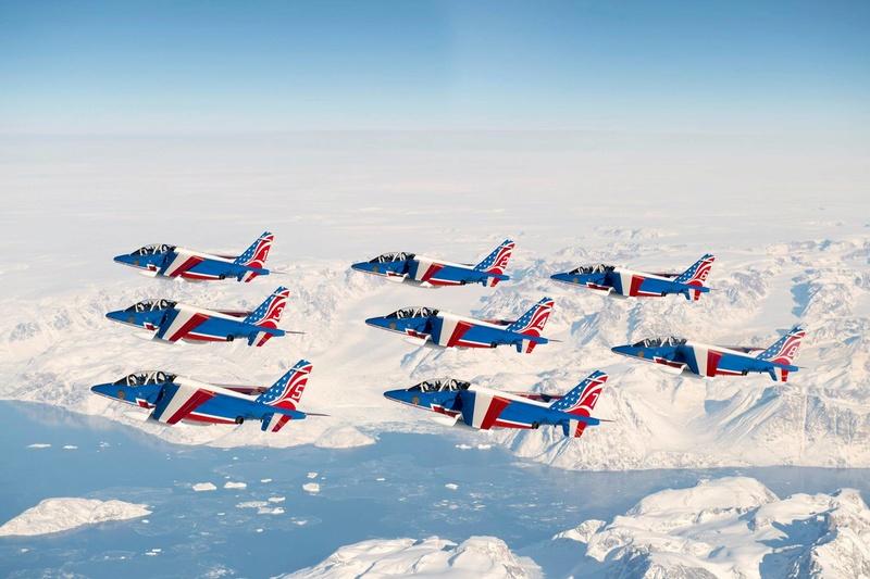 La Patrouille de France en tournée aux States  Paf_310