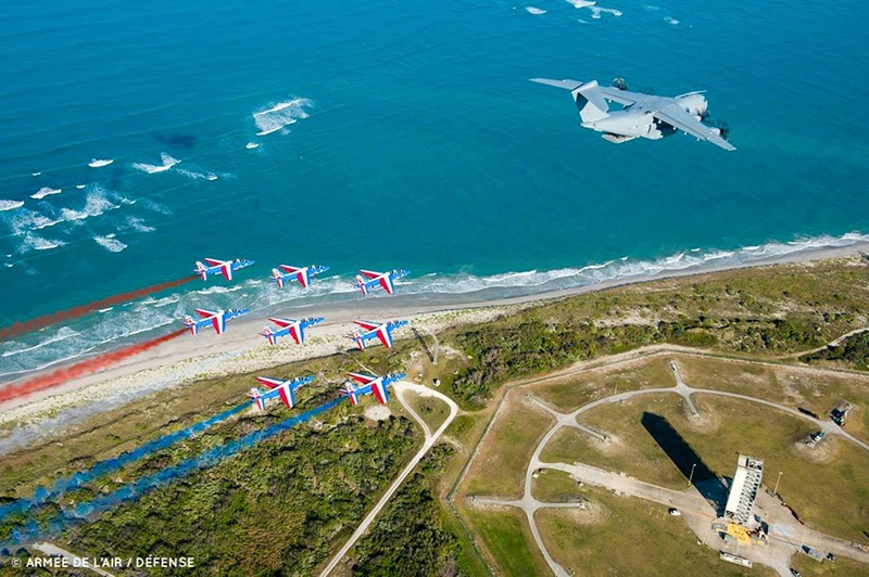 La Patrouille de France en tournée aux States  Paf_ke11