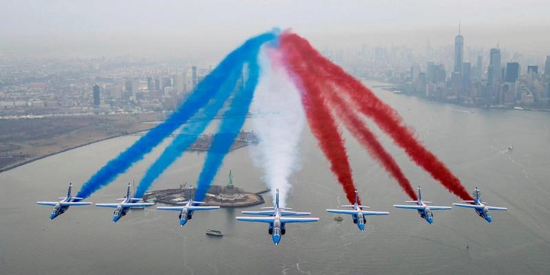 La Patrouille de France en tournée aux States  Paf_ne10