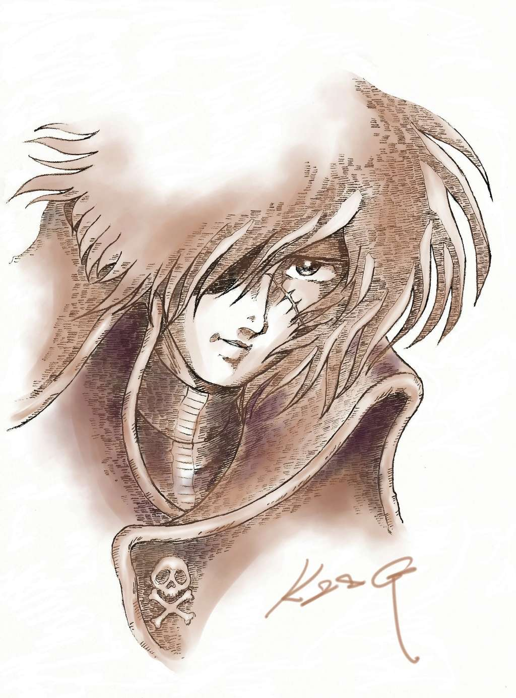 Albator / Captain Harlock : Fan-arts. - Page 38 34801310