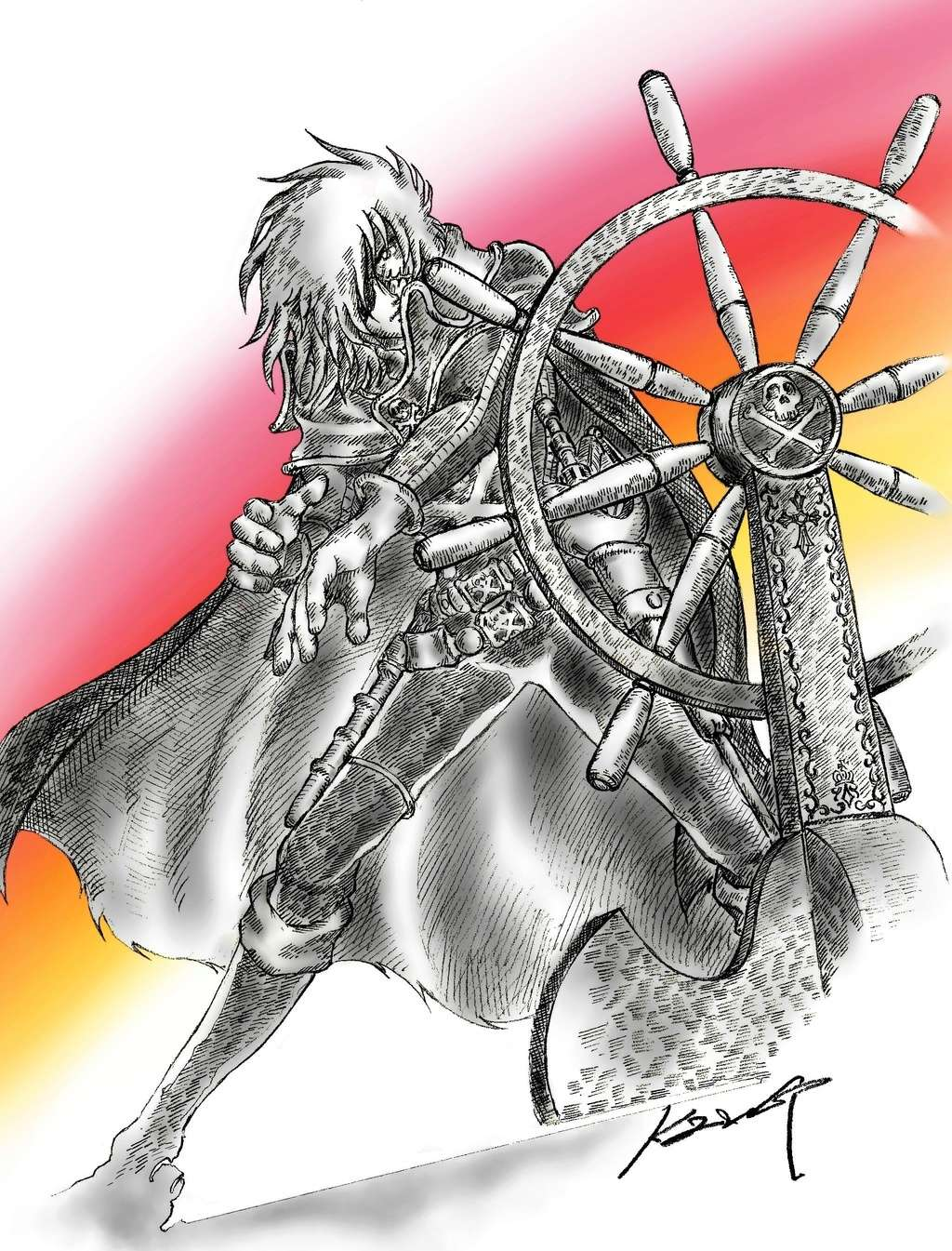 Albator / Captain Harlock : Fan-arts. - Page 38 42952810